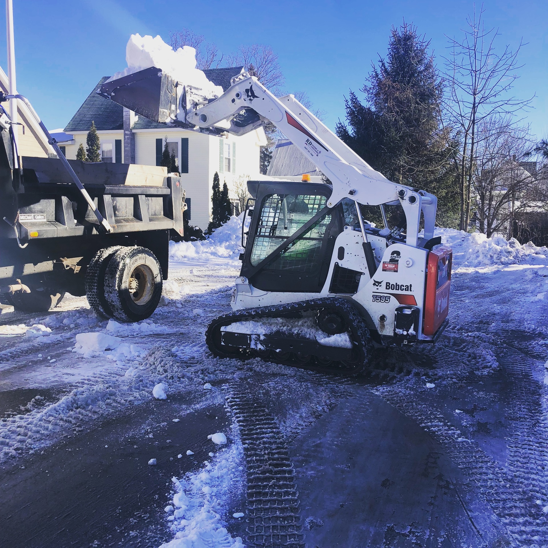 Snow Removal Service RD Masonry & Landscaping