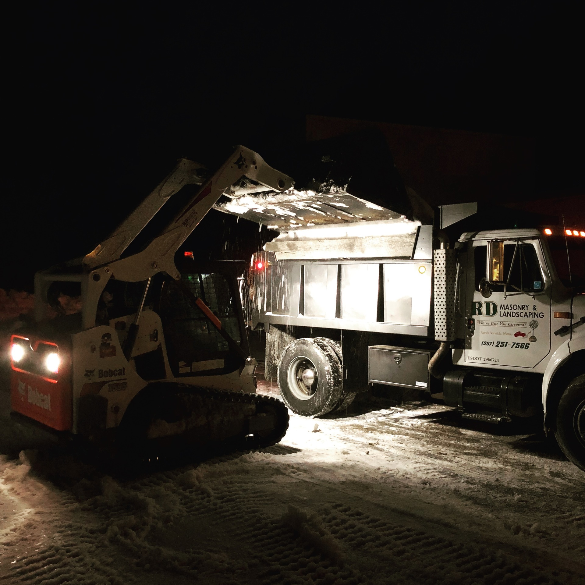 Snow Removal in Southern Maine